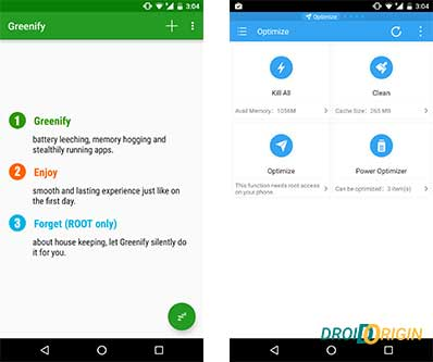 Get Android Marshmallow features - Memory & Battery Management