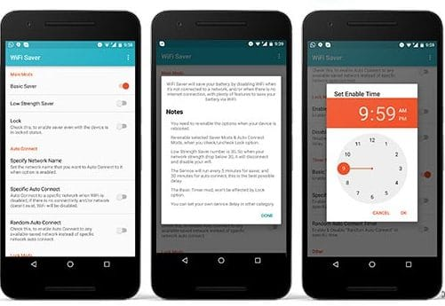 Wifi Saver App by Abo Hani Screenshots