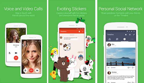 Alternatives to FaceTime on Android Line