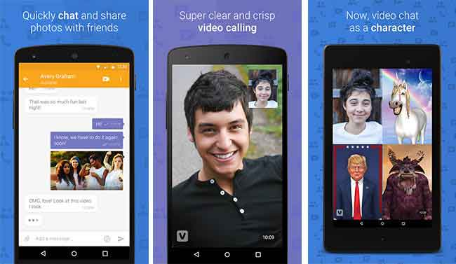 Alternatives to FaceTime on Android ooVoo