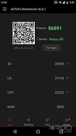 Chroma ROM Review AnTuTu Benchmark Score