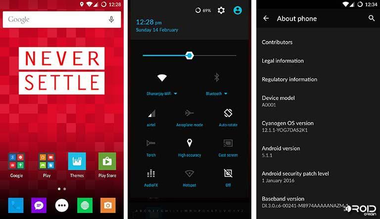OnePlus One Stock firmware