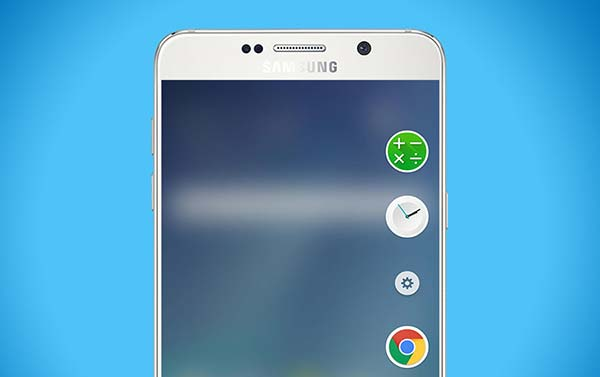 Enable Edge Features on Galaxy Note 5