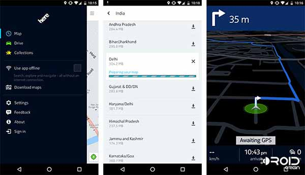 Must Have Apps for Android Nokia HERE Maps
