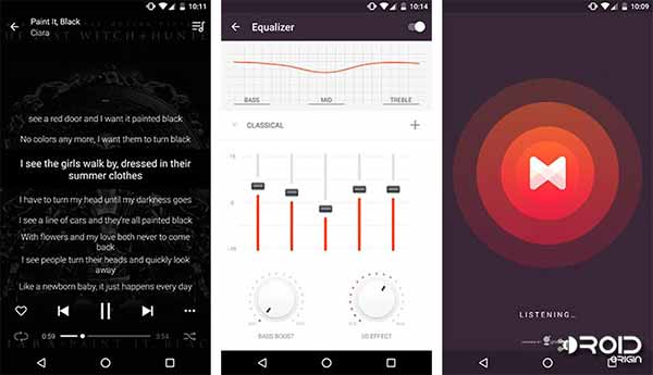 Must Have Apps for Android MusixMatch