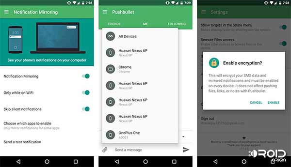 Must Have Apps for Android Pushbullet