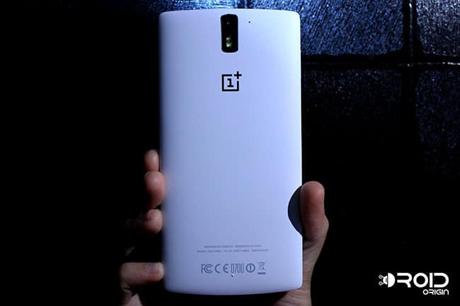 OnePlus One Review Back