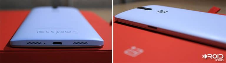 OnePlus One Review Sides