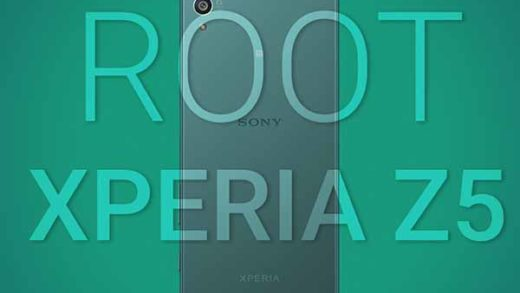 Root Xperia Z5 TWRP