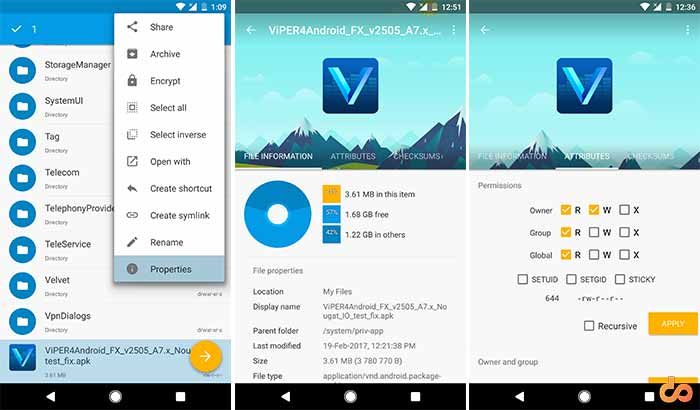ViPER4Android on Marshmallow Install as system app