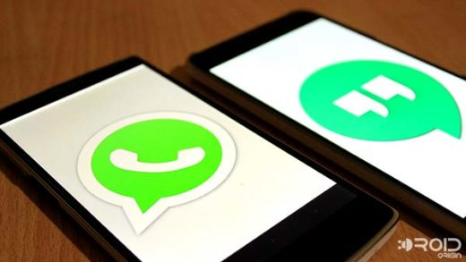 Whatsapp or Google Hangouts faceoff
