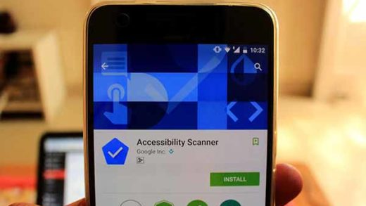 Google Accessibility Scanner