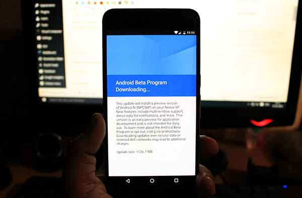 Enroll in Android Beta Program