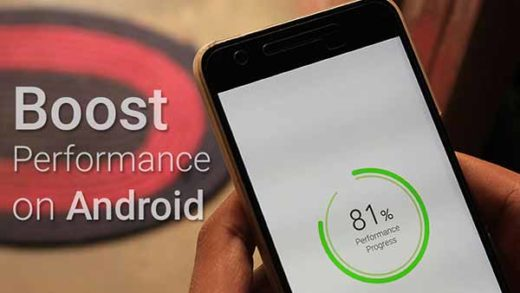 Boost Performance on Android