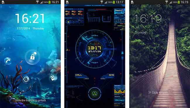 Top Five Lockscreen Apps for Android C Locker