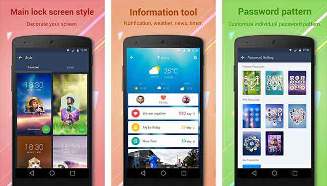 Top Five Lockscreen Apps for Android Solo Locker