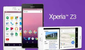 Xperia Z3 Android N Developer Preview