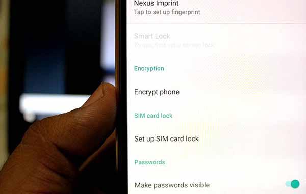 Decrypt Nexus 5X