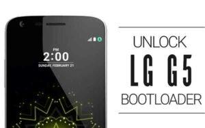Unlock LG G5 Bootloader
