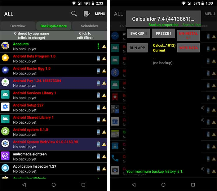 Remove Bloatware on Android - Uninstall System Apps using Titanium