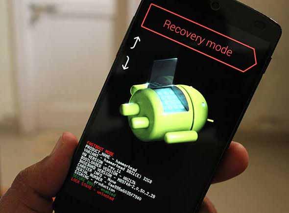 Nexus 5 Bootloader Mode