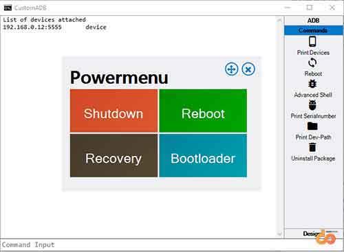 CustomADB Tool - Screenshot 2