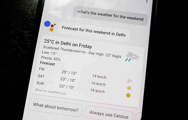 Google Assistant Tips and Tricks - Weather Forecast