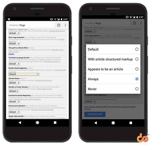 Google Chrome Tips and Tricks - Reader mode