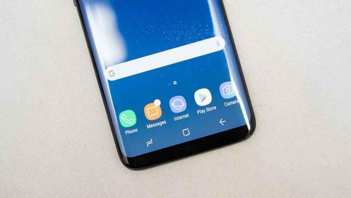 Get Samsung Galaxy S8 NavBar
