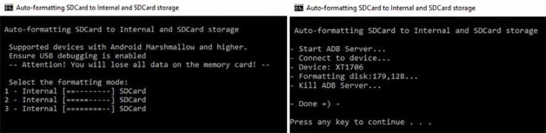 Partition SD Card Adoptable Storage Tool