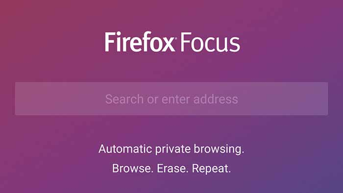Firefox Focus Private Browser