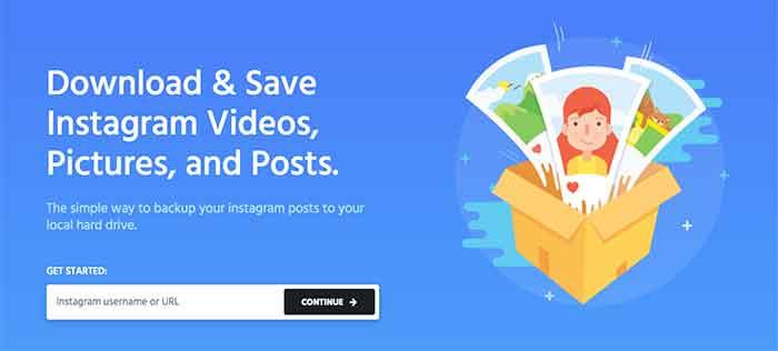 Save Instagram Photos on PC