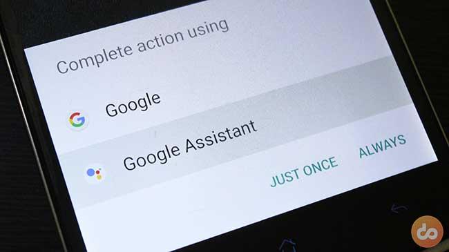 Set Google Assistant as default on Lollipop