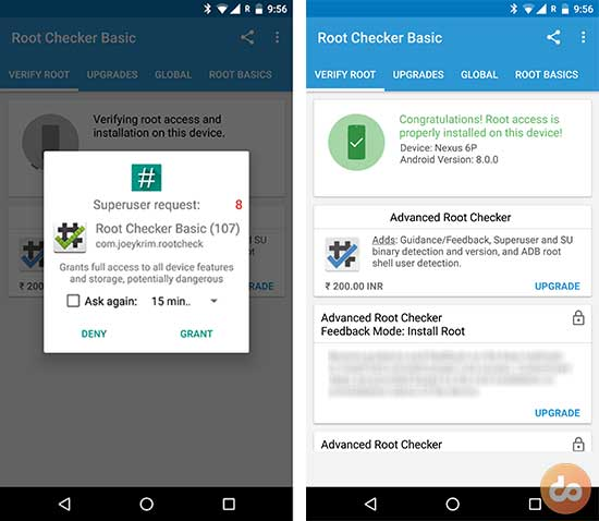 Root Android O Developer Preview Root Checker