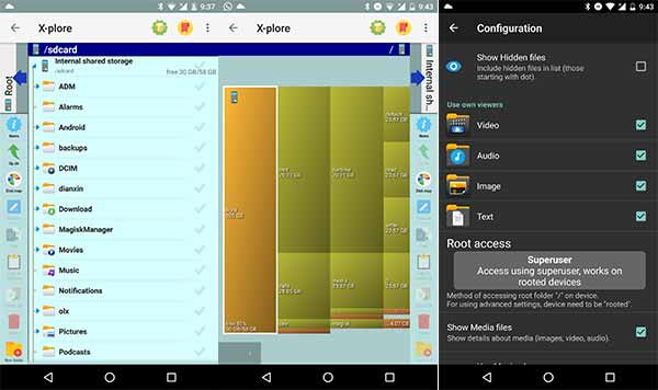 5 Best Android File Manager Apps - X-plore File Manager