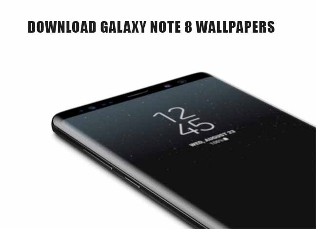 Download Galaxy Note 8 Wallpapers