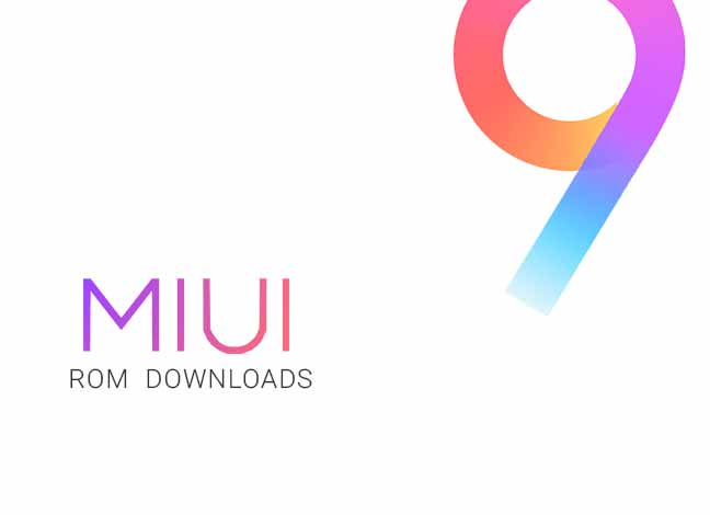 Download MIUI 9 Beta ROM
