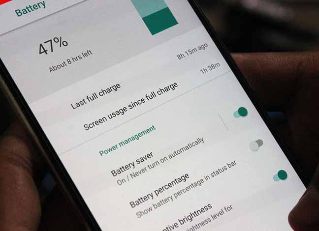 Fix Android Oreo Battery Drain