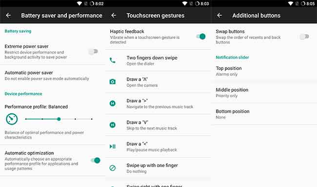 Install LineageOS on OnePlus 5 - Battery Profiles, Gestures, Buttons