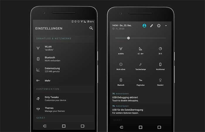List of Android Oreo Substratum Themes - Compound for substratum