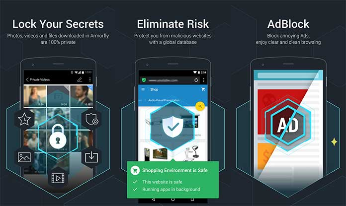 Best Secure Android Browsers - Armorfly