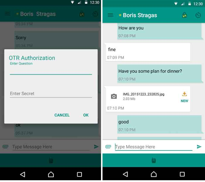 Best Secure Messaging Apps for Android [September] - Secure Chat