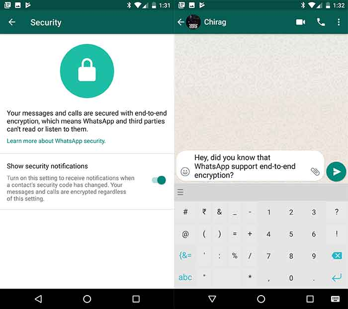 Best Secure Messaging Apps for Android [September] - WhatsApp