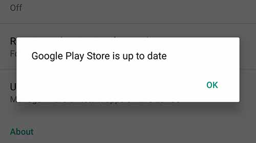 Download Google Play Store Update officially - Already up-to-date