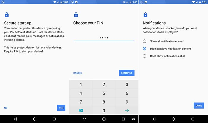 Face ID feature on Android - Enable secure lockscreen