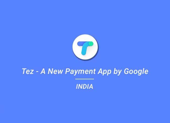 Google Tez Payments App