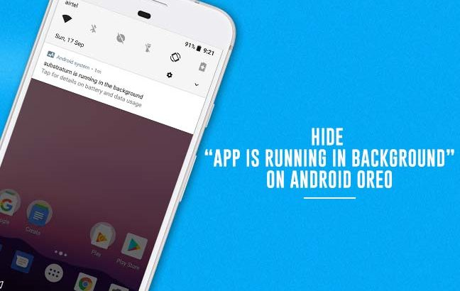 Hide Persistent Notifications on Android Oreo