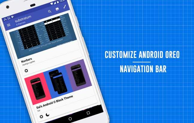 How to Customize Android Oreo NavBar without Root