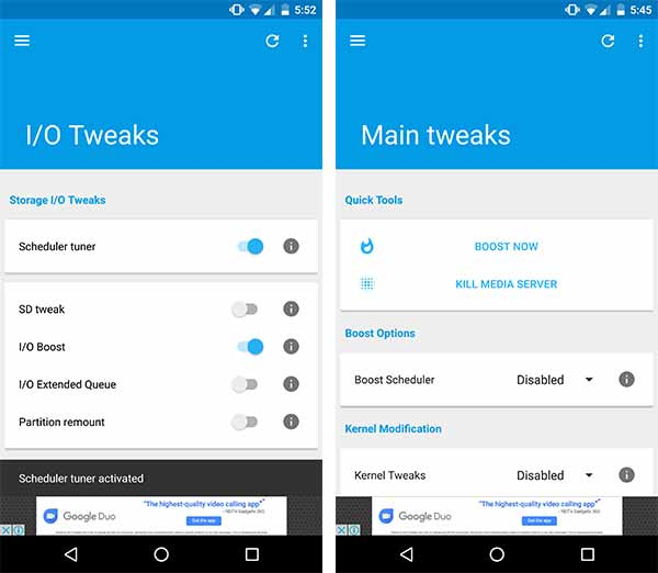 How to Install Android Oreo L Speed Mod - IO Tweaks and Main Tweaks