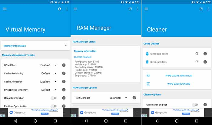 How to Install Android Oreo L Speed Mod - Virtual Manager, RAM manager, and Cleaner